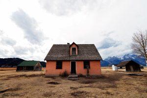 Barns In Mormon Row - Grand Teton National Park